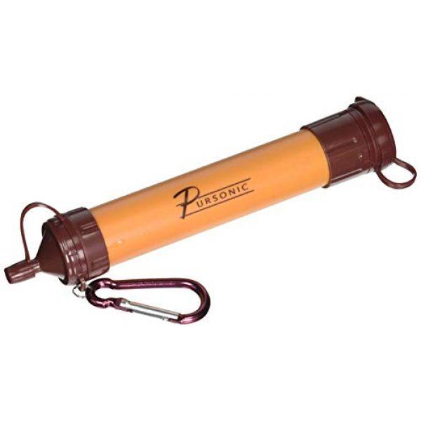 Pursonic Survival Water Filter 1 Pursonic SS1 Survivor Straw Personal Water Filter