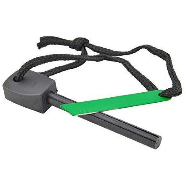 uniqwardrobe Survival Fire Starter 1 uniqwardrobe Survival Magnesium Flint Stone Fire Starter Lighter Kit