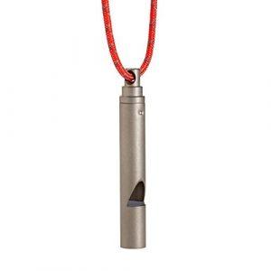 Vargo  1 Vargo Titanium Emergency Whistle with Cord