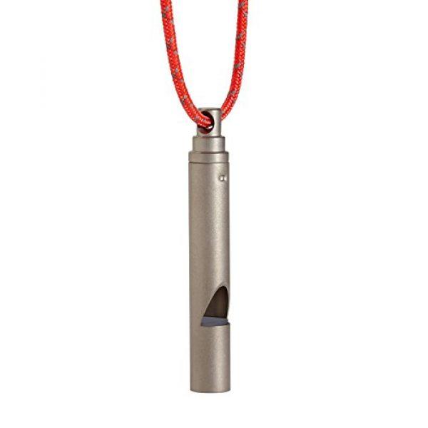 Vargo Survival Whistle 1 Vargo Titanium Emergency Whistle with Cord