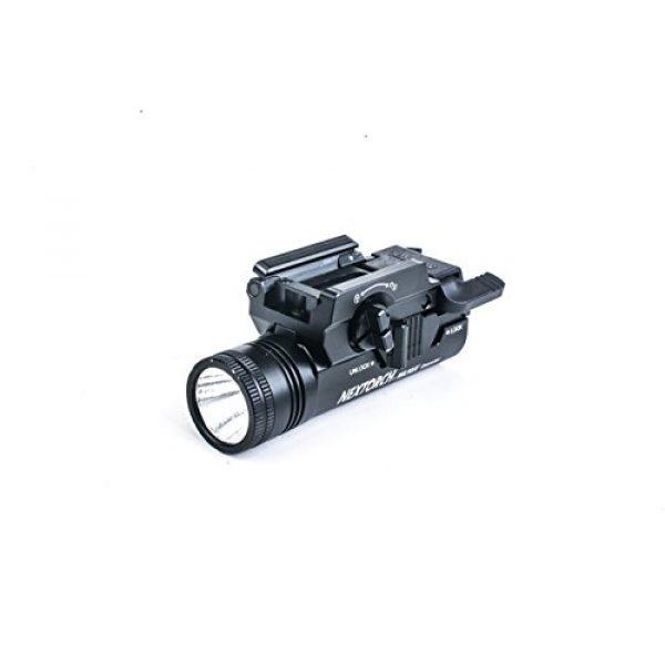 NEXTORCH Survival Flashlight 1 NEXTORCH 230 Lumen WL10X Executor Ultra Bright Lightweight LED Weapon Light, Attach Mount Upgraded
