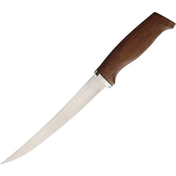 Condor Tool & Knife Fixed Blade Survival Knife 1 Condor Tool & Knife, Finmaster Knife, 7in Blade, Walnut Handle with Sheath