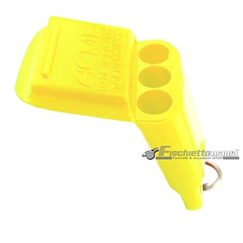 acme  1 Acme Tornado 635 Pealess Whistle (Yellow)