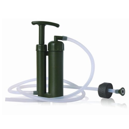 BSS  1 BSS Mini Soldier Water Filter for Camping Hiking Fishing Hunting climbing Trip Travel Outdoor Work Emergency and Survival