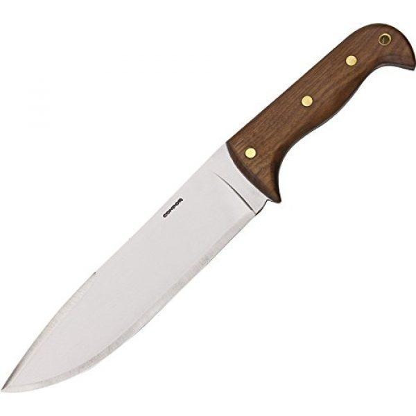 Condor Tool & Knife Fixed Blade Survival Knife 1 Condor Tool & Knife, Moonshiner, 9in Blade, Wood Handle with Sheath