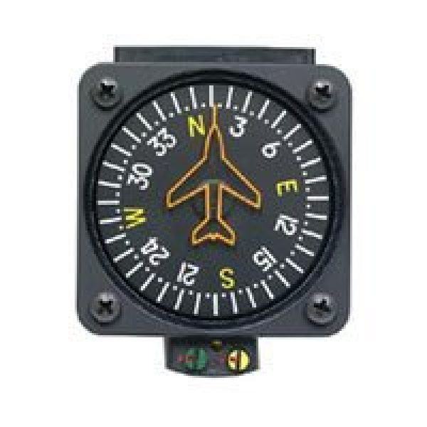 Precision Aviation Survival Compass 1 Precision Aviation PAI-700/14 Vertical Card Compass