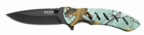 "Bear Edge  1 Bear Edge 4 1/4"" Predator Series Brisk 1.0 Frame Lock Folder Knife"