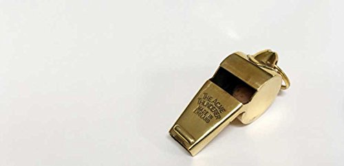 The Acme  1 Acme Thunderer 60.5 Polished Brass Small (Gold) Small
