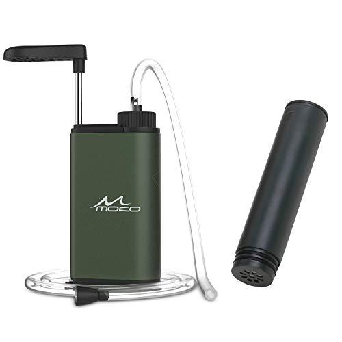 MoKo  1 MoKo Portable Water Filter & Filter Cartridge Replacement Bundle