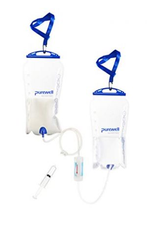 Purewell  1 Purewell Gravity High-Capacity Water Filtration System for Camping