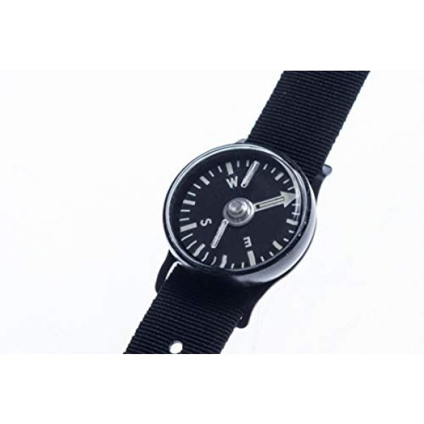Cammenga Survival Compass 1 Tritium Wrist Compass