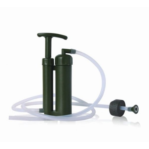 Pureeasy Survival Water Filter 1 Pureeasy 99.9999% Removes Bacteria with 0.1 Micron Ceramic Membranes Cartridge Soldier Water Filter