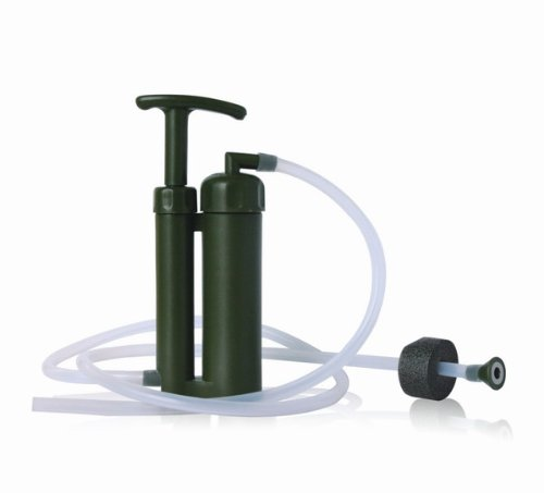 Pureeasy  1 Pureeasy 99.9999% Removes Bacteria with 0.1 Micron Ceramic Membranes Cartridge Soldier Water Filter