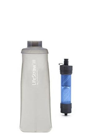 LifeStraw  1 LifeStraw Flex Multi-Function Water Filter System with 2-Stage Carbon Filtration for Hiking