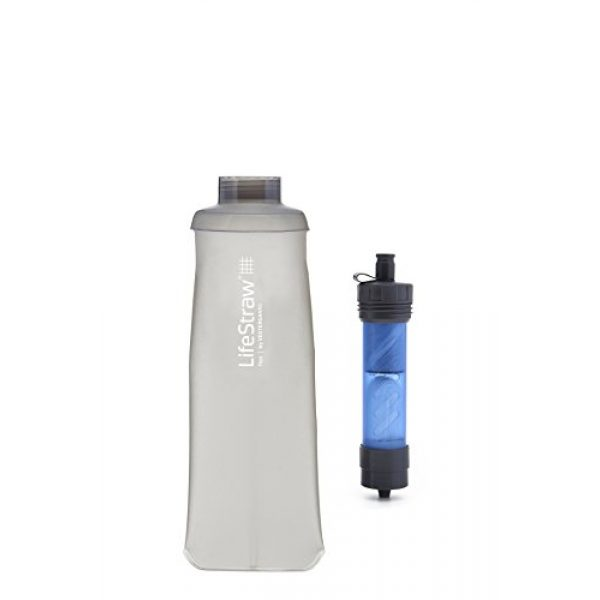 LifeStraw Survival Water Filter 4 LifeStraw Carbon Capsule Replacement for Flex Water Filtration System