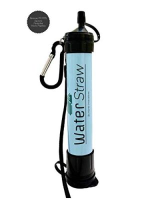 Generic  1 Personal Water Filter & Emergency Water Purifier - Survival Gear Camping Essentials - Survival Water Filter Straw - Water Purifier Emergency Preparedness - Hiking Water Purification - WaterStraw