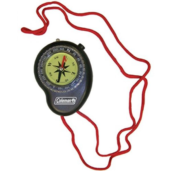 Coleman Survival Compass 1 Coleman Compass with LED Light