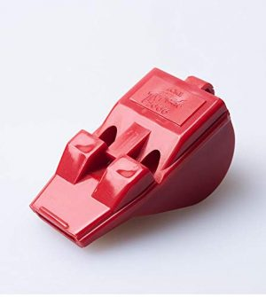 acme  1 acme Tornado Model T2000 Pealess Whistle Red