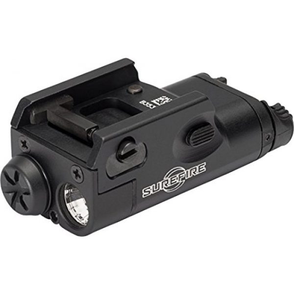 SureFire Survival Flashlight 1 SureFire Weaponlights Compact Handgun Light with Improved Constant-On Activation Switches