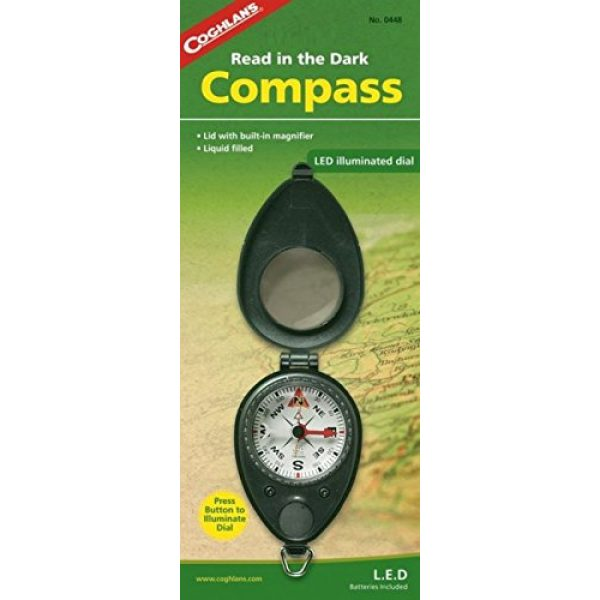 Coghlan's Survival Compass 1 Coghlan's Compass with LED Light