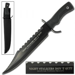 Armory Replicas  1 Armory Replicas Hunting Outdoor Survivors Bowie Sawback Knife 17 Inches Silver