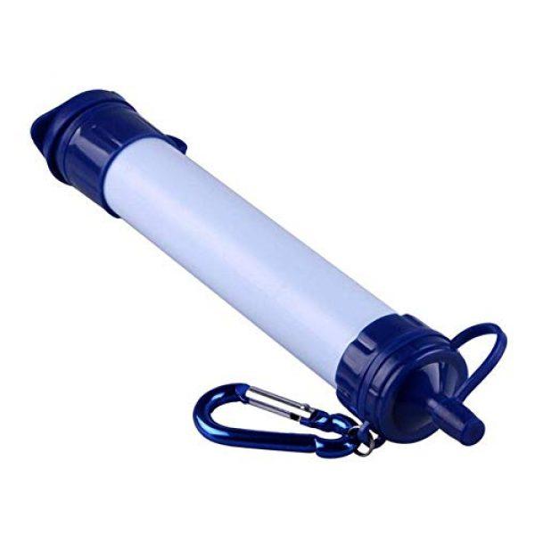Meng Ran Survival Water Filter 1 Meng Ran Portable Water Filter, Personal Water PurifierWater Filter StrawPortable Water Filters for Camping, Hiking or Survival Bug Out Bag