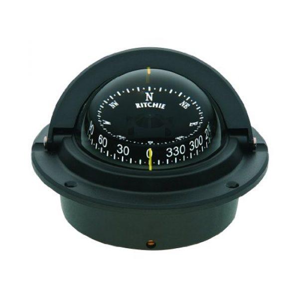 """Ritchie Navigation Survival Compass 1 Compass, Flush Mount, 3"""" Combi, Black"""