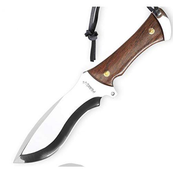 Perkin Fixed Blade Survival Knife 1 Perkin Knives - Handmade Hunting Knife D2 Tool Steel