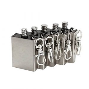 ETOPSTECH  1 ETOPSTECH Crazy Shopping 5pcs Flint Metal Match Lighter