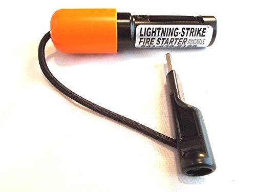 Lightning Strike Survival Fire Starter 1 Lightning Strike Mini Fire Starter by Holland