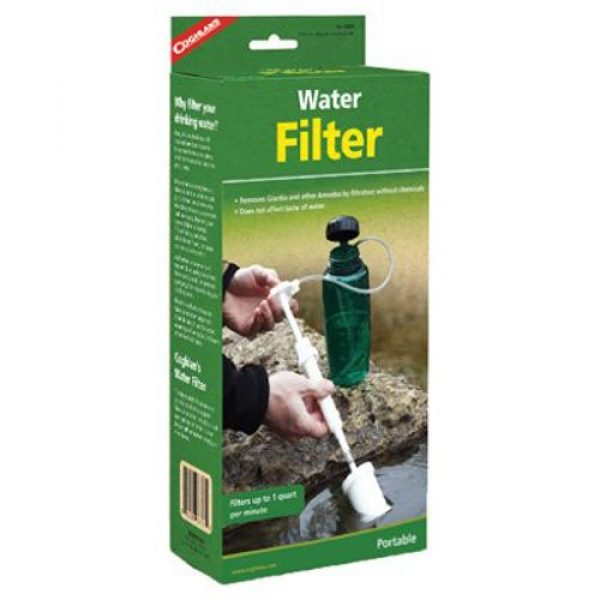 Coghlan's Survival Water Filter 1 Coghlan's Camping Water Filter
