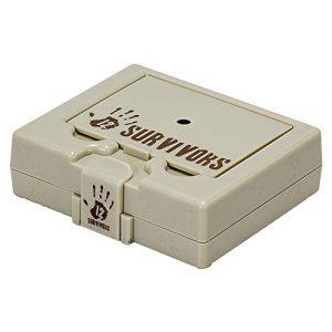 12 Survivors Survival Kit 1 12 Survivors Mini Bug Out Box, Black/Tan, Model:TS45000