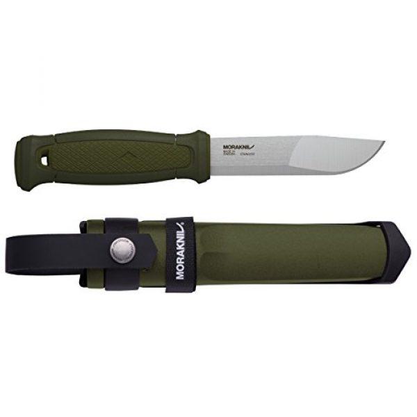 Morakniv Fixed Blade Survival Knife 1 Morakniv Kansbol Fixed Blade Knife with Sandvik Stainless Steel Blade