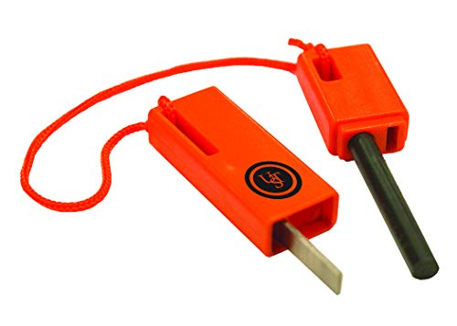 UST  1 UST SparkForce Fire Starter with Durable Construction and Lanyard for Camping
