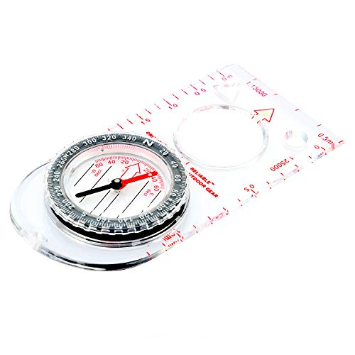 Reliable Outdoor Gear  1 Reliable Outdoor Gear Boy Scout Compass - Liquid Filled