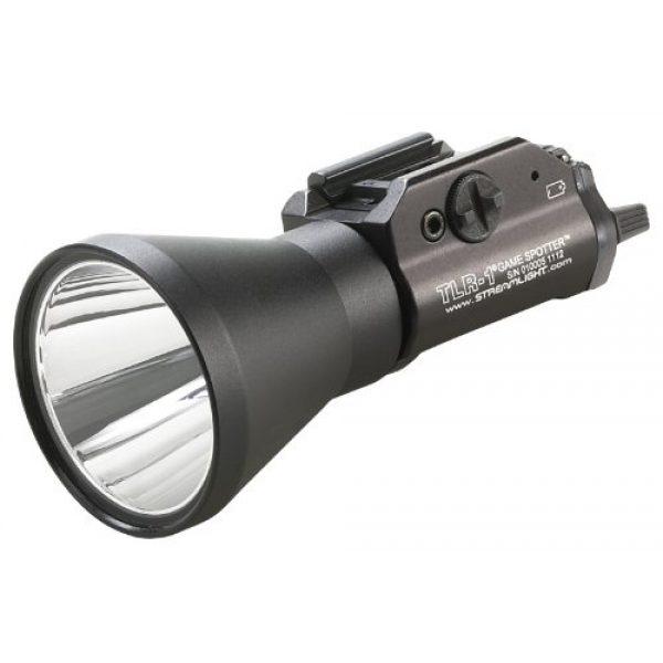 Streamlight Survival Flashlight 1 Streamlight 69227 TLR-1 Game Spotter - 150 Lumens,Black