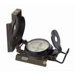 CampCo Survival Compass 1 Humvee HMV-Compass-OD Military Style Compass