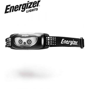 Energizer Survival Flashlight 1 Energizer LED Headlamp, Bright and Durable, Lightweight, Built for Camping, Hiking, Outdoors, Emergency Light, Best Head Lamp for Adults and Kids, Batteries Included