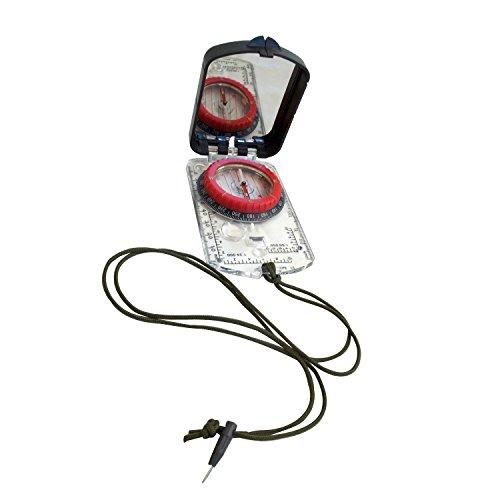Alpine Mountain Gear Survival Compass 1 4011828 Alpine Mountain Gear Map Compass with Adjustable Declination,Black