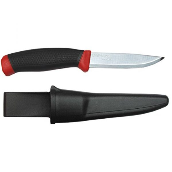 Morakniv Fixed Blade Survival Knife 1 Morakniv Clipper 840 Fixed Blade Outdoor Knife with Carbon Steel Blade, 3.9-Inch