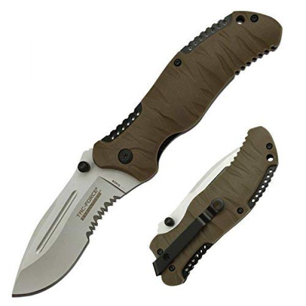 Tac Force Evolution Folding Survival Knife 1 Tac Force Evolution Folding Knife - TFE-FDR001-TN