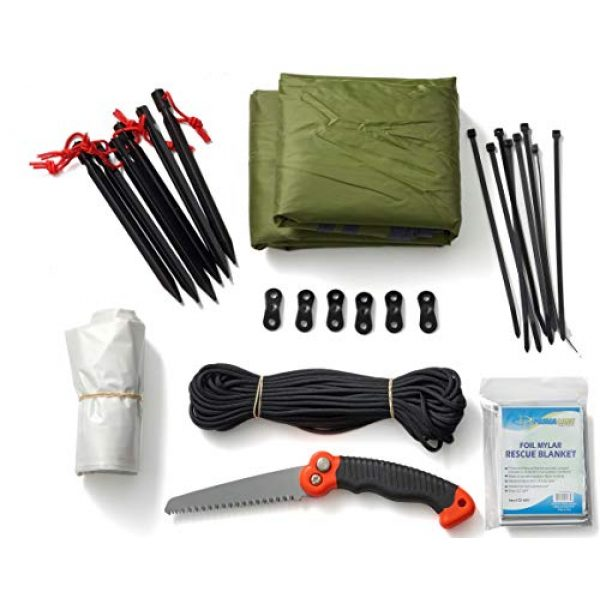 Stanford Outdoor Supply Survival Kit 1 Stanford Outdoor Supply Shelter B.O.S.S. Bug Out Bag Survival Kit