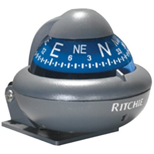 Ritchie Navigation Survival Compass 1 RITCHIE NAVIGATION X-10-A Blue Dial Auto Bracket Compass (3003.2027)