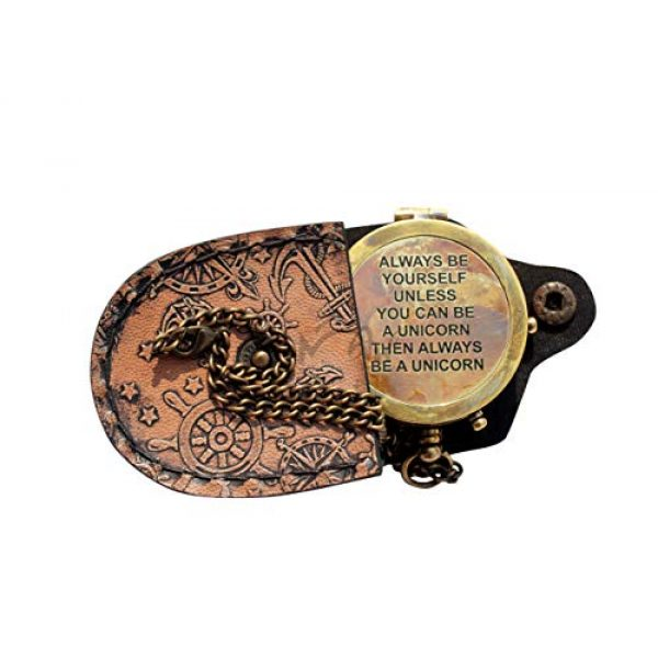 MAH Survival Compass 1 MAH Always Be Yourself , Camping Compass Engraved with Gift Compass C-3137
