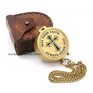 Roorkee Instruments India Survival Compass 1 Roorkee Instruments India Engraved Compass, Confirmation Gift Ideas, Baptism Gifts