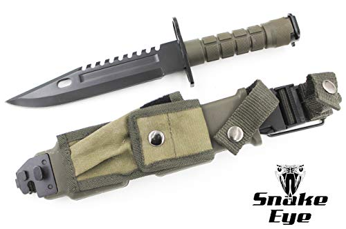 Snake Eye Tactical  3 Snake Eye Tactical M9 Bayonet Military Knife
