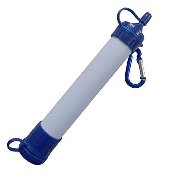 Campout Survival Water Filter 1 Campout Outdoor Personal Portable Water Purification Hiking Camping Filter Drinking Purifier