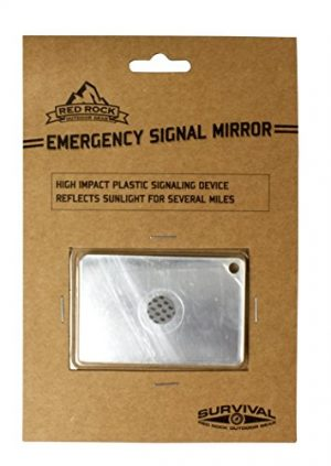 Red Rock Outdoor Gear  1 Red Rock Outdoor Gear Emergency Signal Mirror