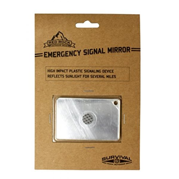 Red Rock Outdoor Gear Survival Signal Mirror 1 Red Rock Outdoor Gear Emergency Signal Mirror