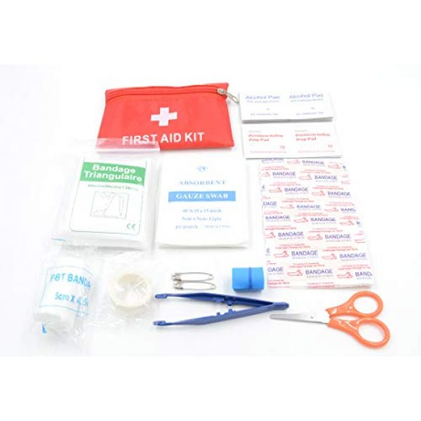 """A+ Alertoa Survival Kit 7 A+ Alertoa 30+""""Items in 1 Survival kit/Emergency Gears + First Aid kit; Include All Essential & Tools for Camping Biking Hunting Outdoor Birthday Gift - Men Women Boys Girls Need This Cool kit"""
